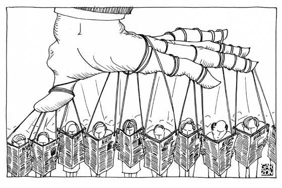 El papel de los medios en la democracia