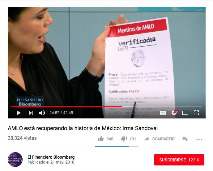 Tatiana Clouthier difunde datos falsos sobre inversión extranjera y Mariana Gómez del Campo manipula información