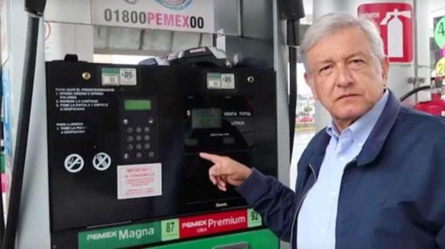 ¿AMLO incumplió su promesa de bajar los precios de la gasolina?