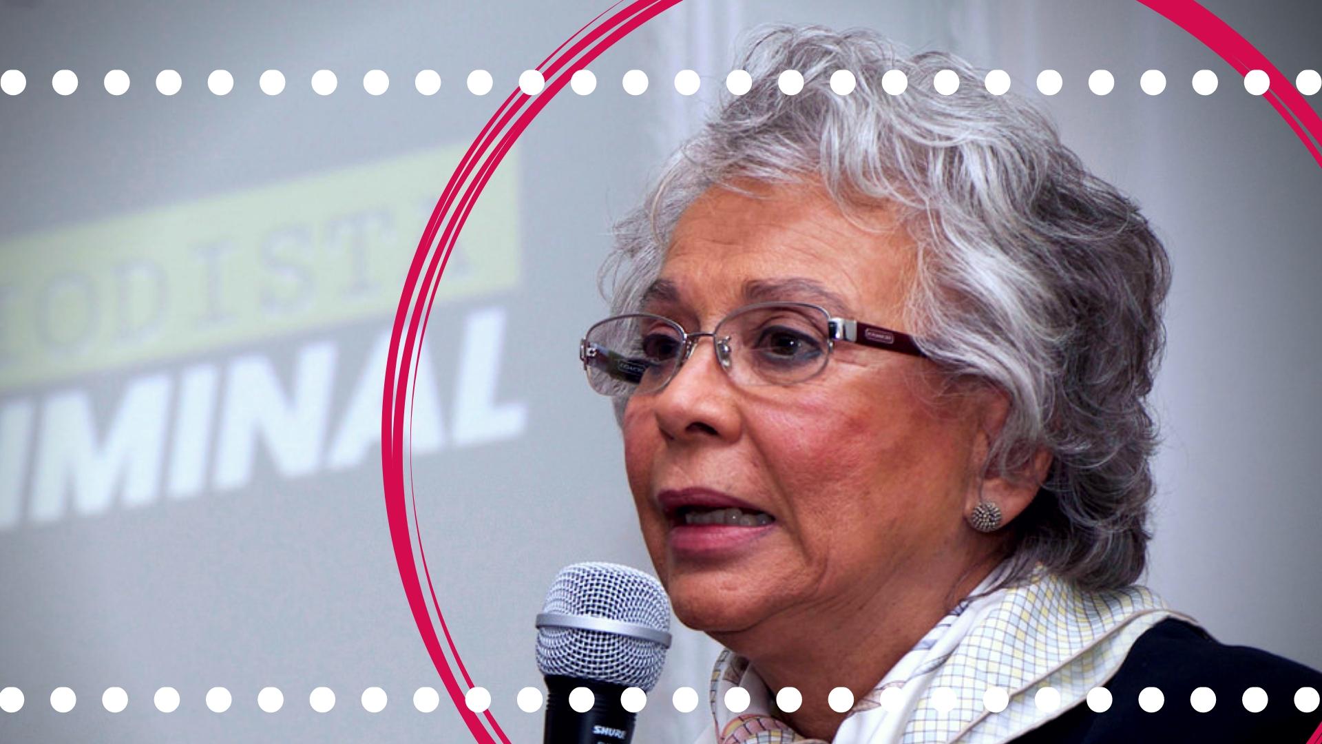 La contradicción de Olga Sánchez Cordero
