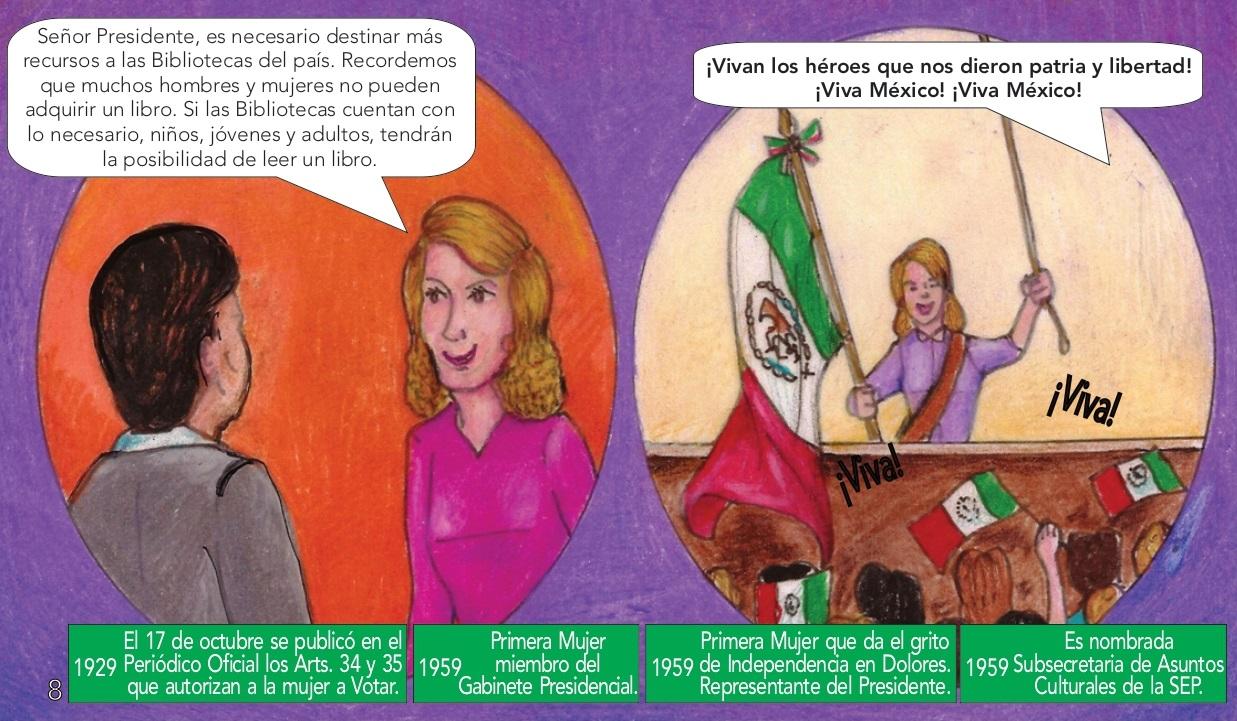 FALSO que Olga Sánchez sea la primera mujer en dar el grito en Dolores Hidalgo