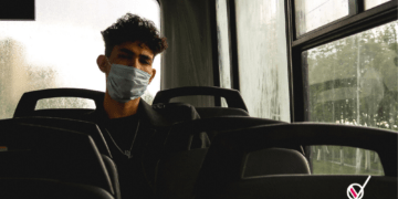 Transporte publico contagio